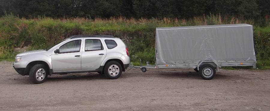 Renault Duster и прицеп